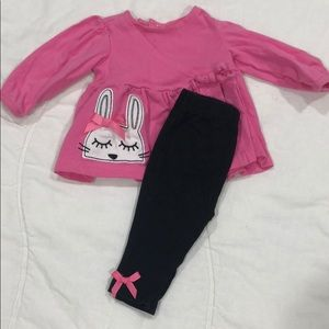 Baby Girl Bunny Outfit 💗🐰💗